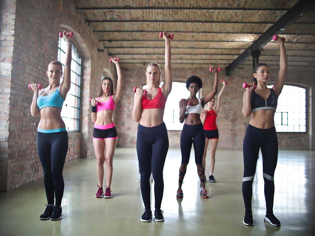 women exercise fitness workout reduce risk of cancer