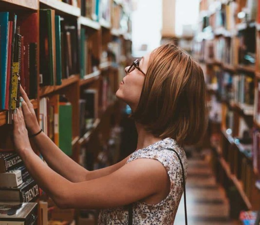 college trade degree degrees graduate library woman
